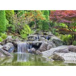 Puzzle  Grafika-02549 Deutschland Edition - Waterfall At Japanese Garden, Bonn