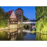 Puzzle  Grafika-02550 Deutschland Edition - Nuremberg