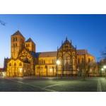 Puzzle  Grafika-02555 Deutschland Edition - Cathedral St. Paulus, Münster