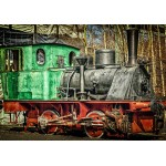 Puzzle  Grafika-02605 Locomotive