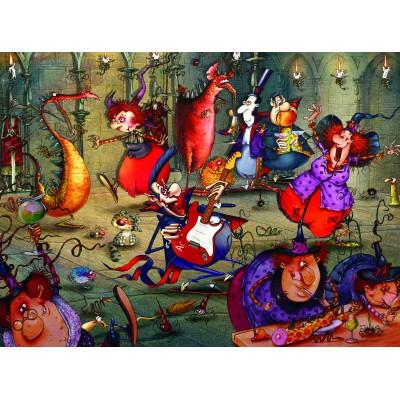 Puzzle Grafika-02637 François Ruyer - The Witches Festival