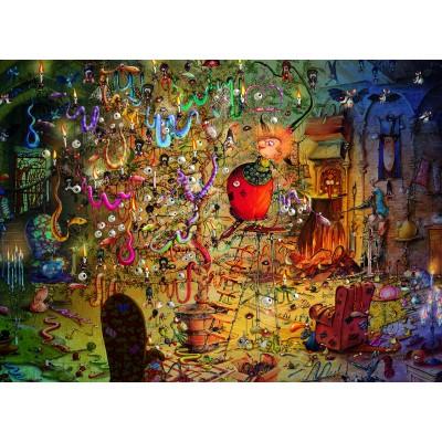 Puzzle Grafika-02642 François Ruyer - Witch