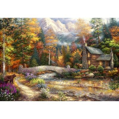 Puzzle Grafika-02689 Chuck Pinson - Call of the Wild