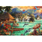 Puzzle  Grafika-02695 Chuck Pinson - Island Life