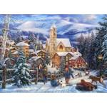 Puzzle  Grafika-02703 Chuck Pinson - Sledding To Town