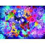 Puzzle  Grafika-02718 Colorful Flowers and Butterflies