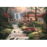 Puzzle  Grafika-02765 Chuck Pinson - Sierra River Falls