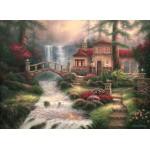 Puzzle  Grafika-02766 Chuck Pinson - Sierra River Falls