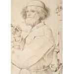 Puzzle  Grafika-02793 Brueghel Pieter - The Painter and the Buyer, 1565