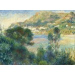 Puzzle  Grafika-02800 Auguste Renoir - View of Monte Carlo from Cap Martin