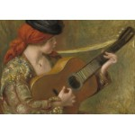 Puzzle  Grafika-02803 Auguste Renoir - Young Spanish Woman with a Guitar