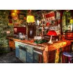 Puzzle  Grafika-02804 Ruin Bar in Budapest