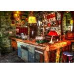 Puzzle  Grafika-02805 Ruin Bar in Budapest