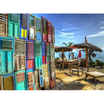 Puzzle Grafika-02807 Windows on Paradise