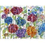 Puzzle  Grafika-02857 Sally Rich - Summer Hydrangeas