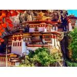 Puzzle  Grafika-02886 Taktsang, Bhutan