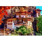 Puzzle  Grafika-02887 Taktsang, Bhutan