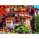 Puzzle  Grafika-02888 Taktsang, Bhutan
