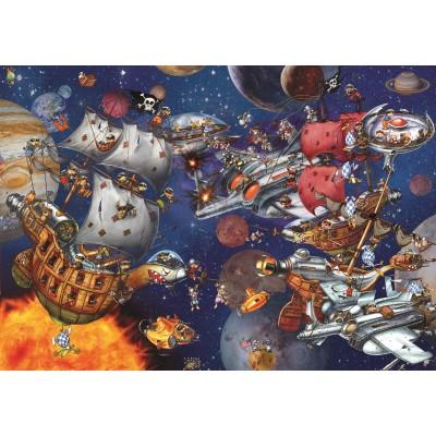Puzzle Grafika-02899 François Ruyer - Space Batttle