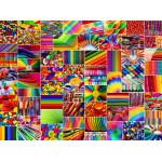 Puzzle  Grafika-02912 Collage - Colors