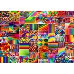 Puzzle  Grafika-02913 Collage - Colors