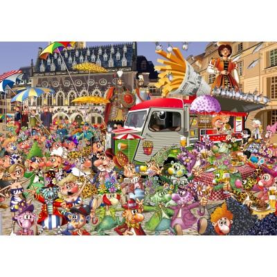 Puzzle Grafika-02916 The Lille Braderie