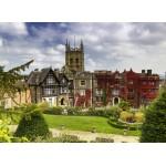 Puzzle  Grafika-02923 Abbey Hotel in Great Malvern