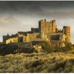 Puzzle  Grafika-02930 Bamburgh Castle in Northumberland