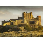 Puzzle  Grafika-02931 Bamburgh Castle in Northumberland