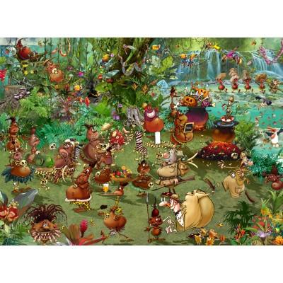 Puzzle Grafika-02967 Tribal Safari