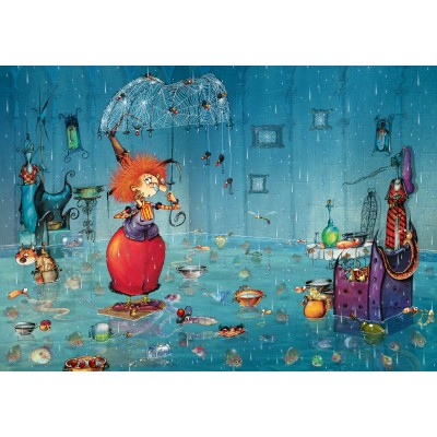 Puzzle Grafika-02970 Wet Witch