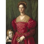 Puzzle   Agnolo Bronzino: A Young Woman and Her Little Boy, 1540