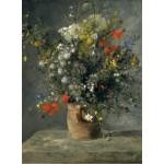 Puzzle   Auguste Renoir : Flowers in a Vase, 1866