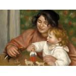 Puzzle   Auguste Renoir: Gabrielle and the Artist's Son, Jean, 1895-1896