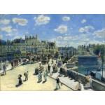 Puzzle   Auguste Renoir: Pont Neuf, Paris, 1872