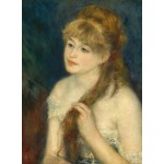 Puzzle   Auguste Renoir: Young Woman Braiding Her Hair, 1876