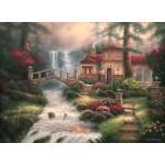 Puzzle   Chuck Pinson - Sierra River Falls
