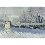 Puzzle   Claudio Monet: The Magpie, 1868-1869