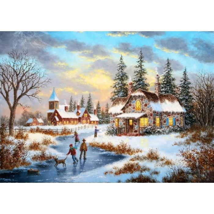Dennis Lewan - A Mid-Winter's Eve Puzzle 1000 pieces
