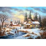 Puzzle   Dennis Lewan - A Mid-Winter's Eve