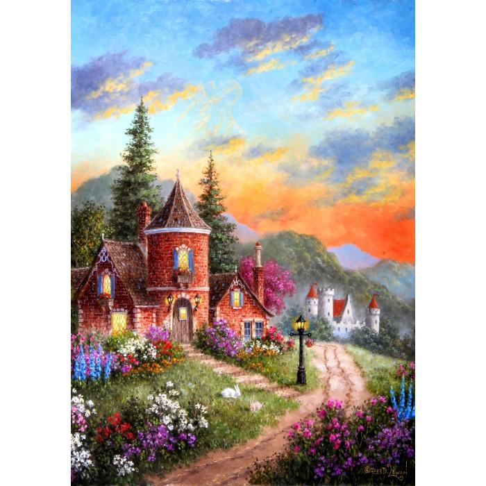 Dennis Lewan - Castle Ridge Manor Puzzle 1000 pieces