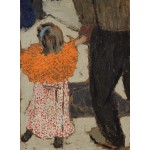 Puzzle   Edouard Vuillard: Child Wearing a Red Scarf, 1891