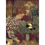 Puzzle   Edouard Vuillard: Woman in a Striped Dress, 1895