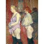 Puzzle   Henri de Toulouse-Lautrec: Rue des Moulins, 1894
