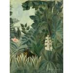 Puzzle   Henri Rousseau: The Equatorial Jungle, 1909