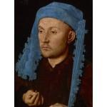 Puzzle   Jan van Eyck - Portrait of a Man with a Blue Chaperon, 1430-33
