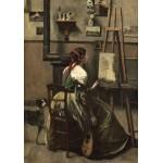 Puzzle   Jean-Baptiste-Camille Corot: The Artist's Studio, 1868