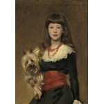 Puzzle   John Singer Sargent: Miss Beatrice Townsend, 1882