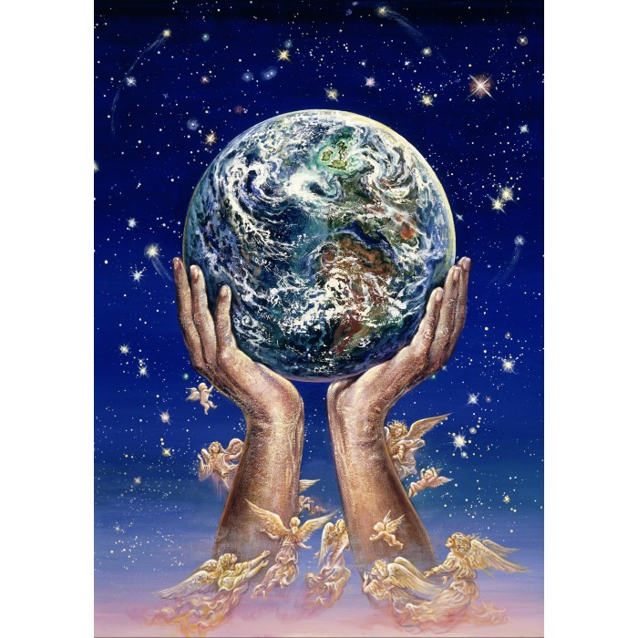 Josephine Wall - Hands of Love Puzzle 1500 pieces