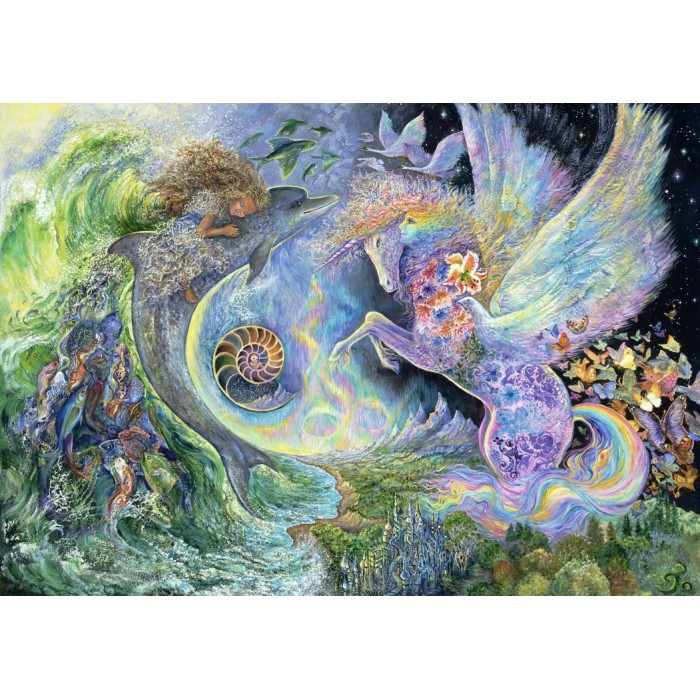 Josephine Wall - Magical Meeting Puzzle 1500	pieces